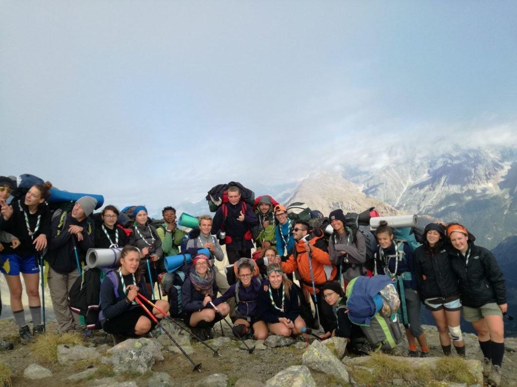 I ragazzi del Clan del gruppo scout Varese 1