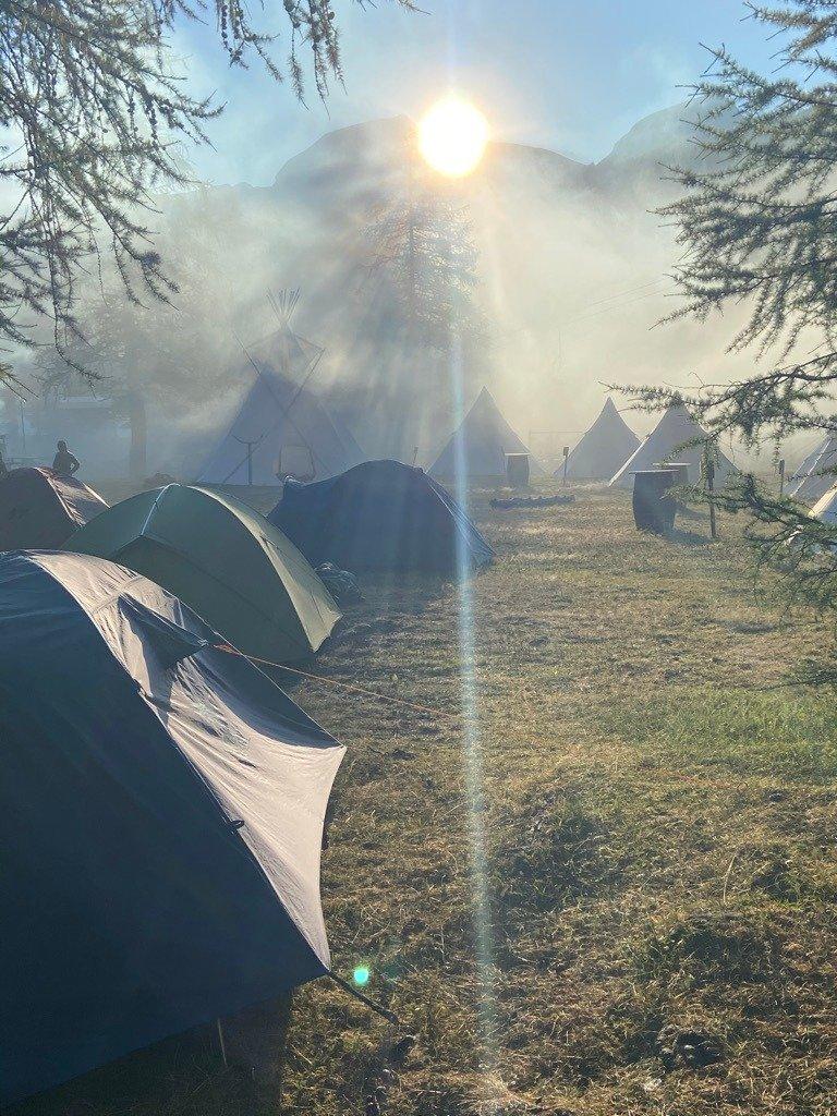 "Alpe Devero: route del clan ""N'duma clan Duma"""